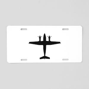 Beech King Air 300 (top) Aluminum License Plate