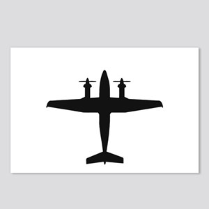 Beech King Air 300 (top) Postcards (Package of 8)