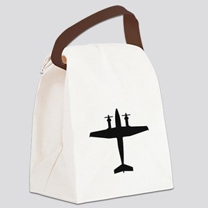 Beech King Air 300 (top) Canvas Lunch Bag