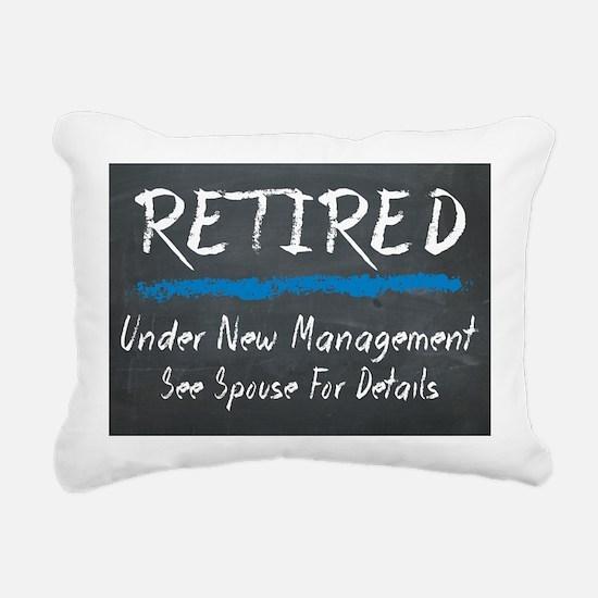 Chalkboard Retired Under New Management Rectangula