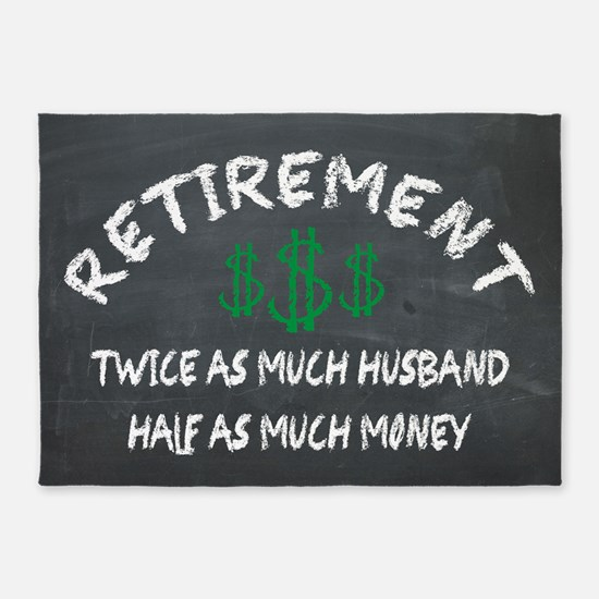 RETIREMENT. HALF AS MUCH MONEY ON THE CHALKBOARD 5