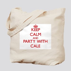 Keep Calm and Party with Cale Tote Bag