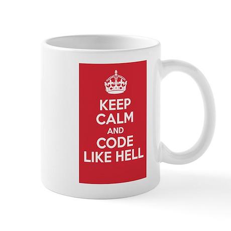 Code like hell Mugs