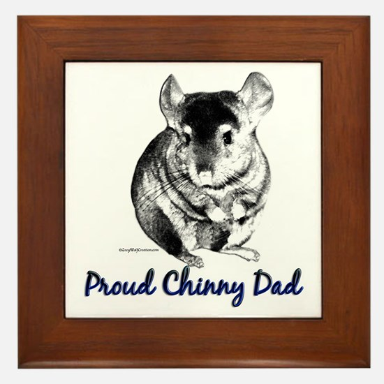 Chinny Dad Framed Tile