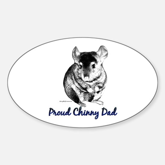 Chinny Dad Oval Decal