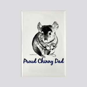 Chinny Dad Rectangle Magnet