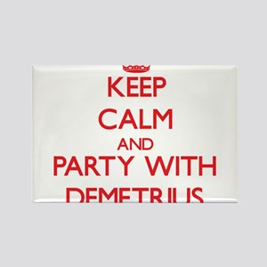 Keep Calm and Party with Demetrius Magnets