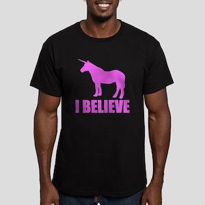 Pink Unicorn I Believe T-Shirt
