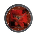 Flower Time - Wall Clock