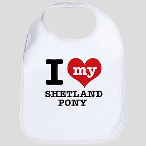 I love my Shetland Pony Bib