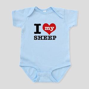 I love my Sheep Infant Bodysuit