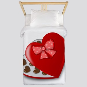 Candy For My Valentine Twin Duvet