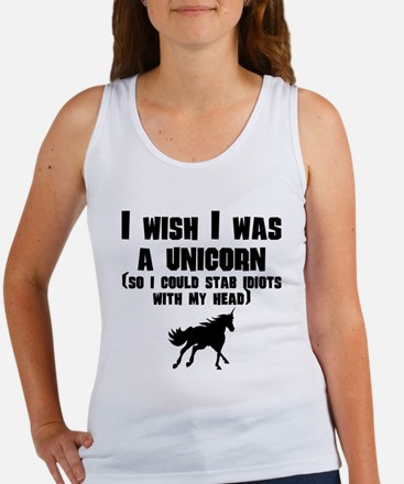 I Wish I Was A Unicorn Tank Top