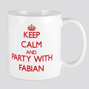 Keep Calm and Party with Fabian Mugs