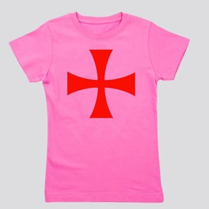 Knights Templar Cross Girl's Tee