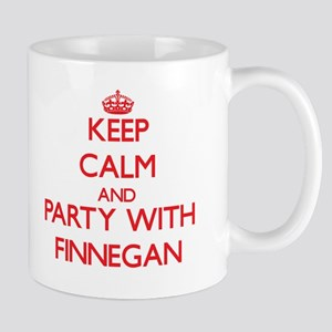 Keep Calm and Party with Finnegan Mugs