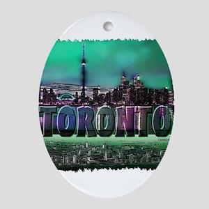Toronto Ornament (Oval)