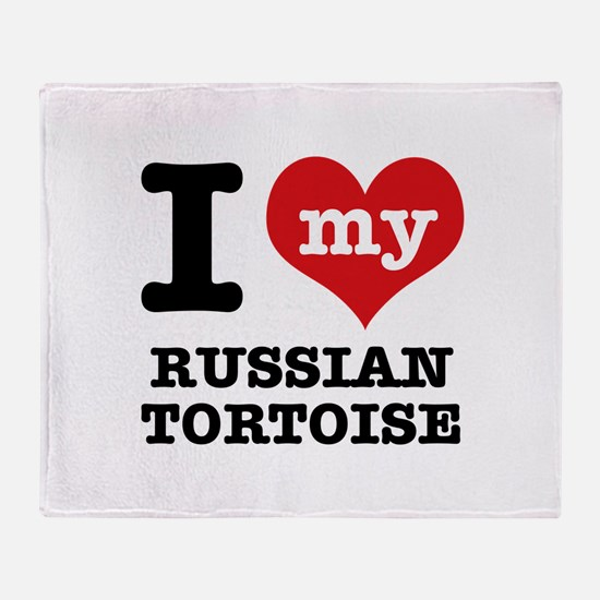 I love my Russian Tortise Throw Blanket