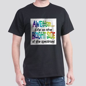AWEtism BRIGHT SIDE Ash Gray T-Shirt