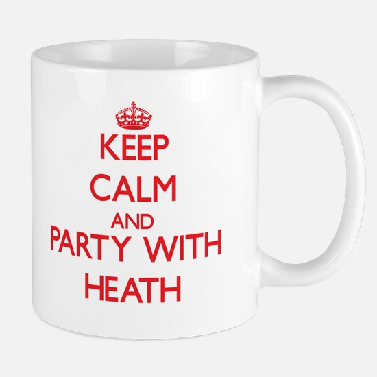 Keep Calm and Party with Heath Mugs