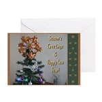 Polyhedral Christmas Greeting Cards (Pk Of 10)