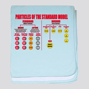 Particles baby blanket
