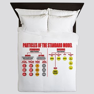 Particles Queen Duvet