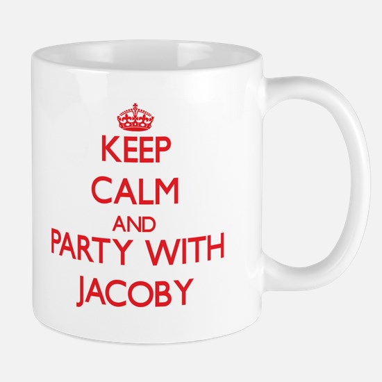 Keep Calm and Party with Jacoby Mugs