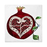 Pomegranate Heart Queen Duvet