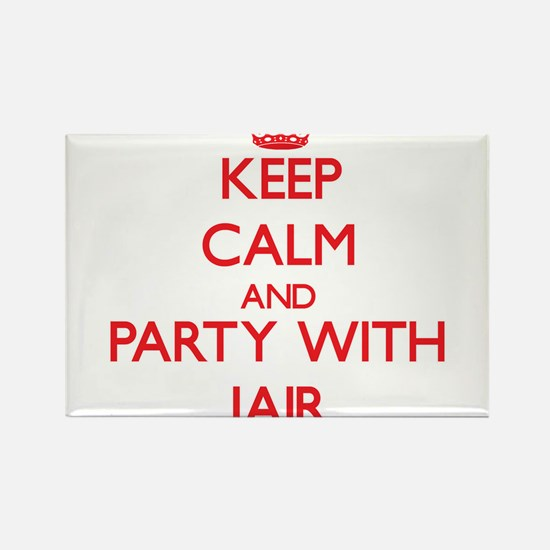 Keep Calm and Party with Jair Magnets