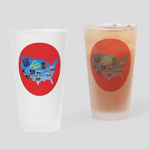 The Mother Road Drinking Glass