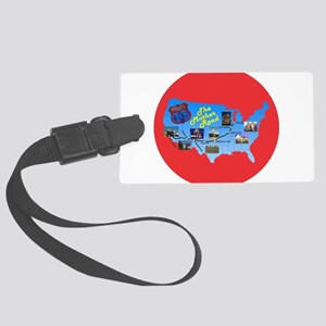 The Mother Road Luggage Tag