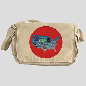 The Mother Road Messenger Bag
