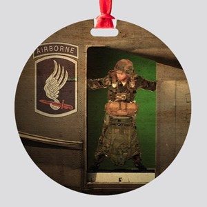 173rd Jumpmaster Round Ornament