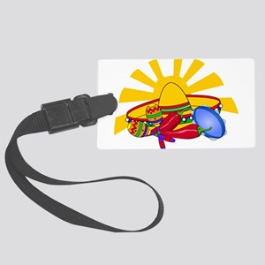 Southwest Fun With Music Luggage Tag