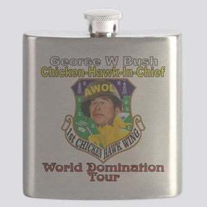 Bush World Domination Tour Flask