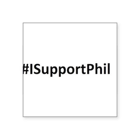 #ISupportPhil Sticker