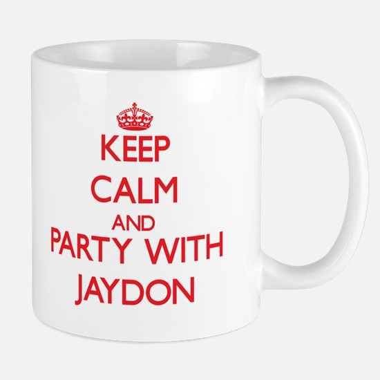 Keep Calm and Party with Jaydon Mugs