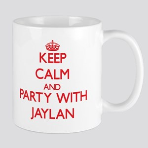 Keep Calm and Party with Jaylan Mugs
