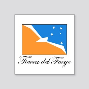 Tierra del Fuego - Flag Rectangle Sticker