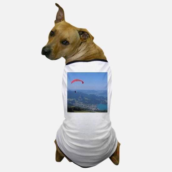 Paraglider in Austria Dog T-Shirt