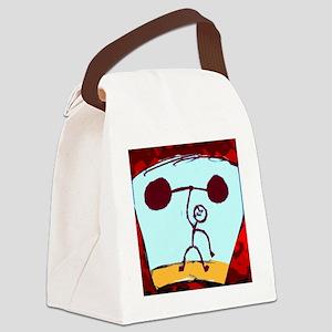 Strongman Canvas Lunch Bag