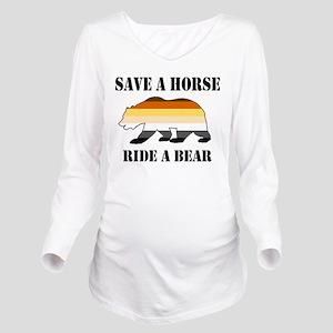 Gay Bear Save a Horse Ride a Bear Long Sleeve Mate