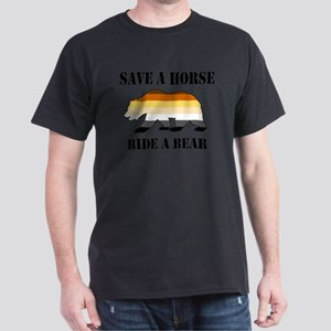 Gay Bear Save A Horse Ride A Bear T-Shirt