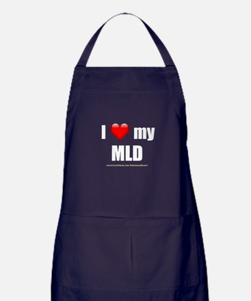 """Love My MLD"" Apron (dark)"