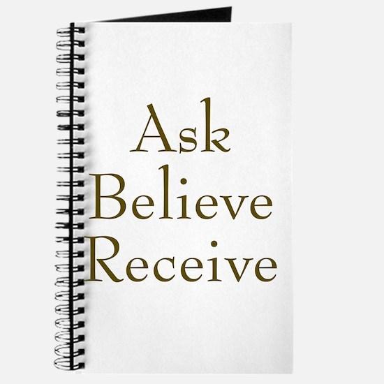 Ask Believe Receive Journal