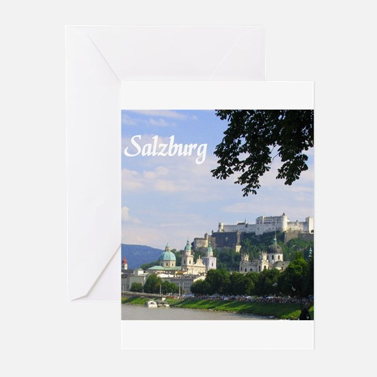 Salzburg souvenir Greeting Cards