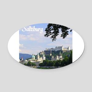 Salzburg souvenir Oval Car Magnet