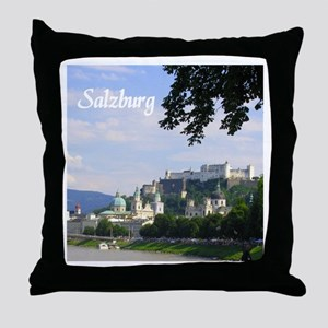 Salzburg souvenir Throw Pillow