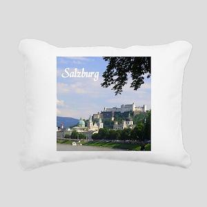 Salzburg souvenir Rectangular Canvas Pillow